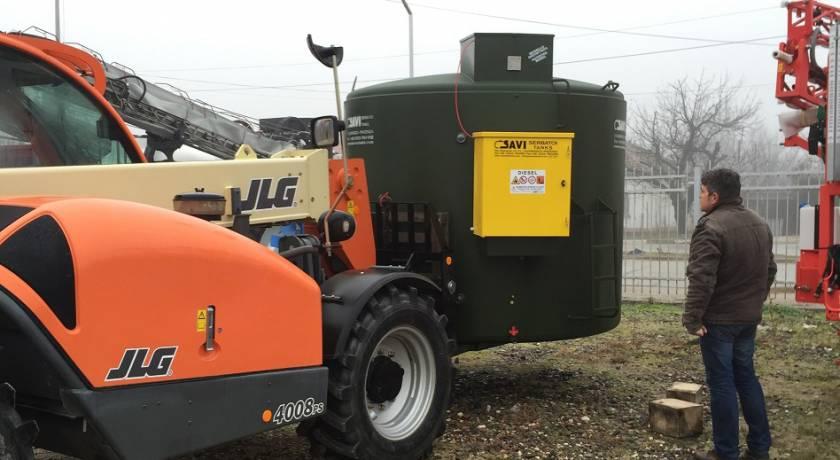 Продажба и доставка на двустенен резервоар модел SAVI BOX 70 от Петрус ООД