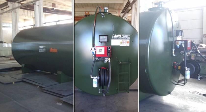 SONAR EXT CUBE 70 – 30000 литров двустенен резервоар за надземно ползване